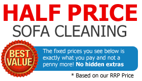 Half Price Upholstery Cleaning